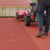 Cleaning-running-track-with-Kersten-sweeper-26