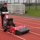 Cleaning-running-track-with-Kersten-sweeper-7